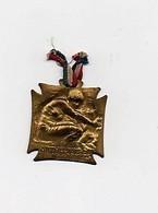 Insigne épinglette Médaille Métal  Orphelinat Des Armées Lalique Guerre 1914-1918 - 1914-18