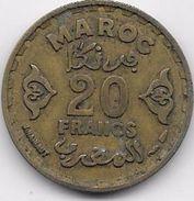 Maroc 20 Francs 1371 - Marokko