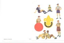 """Scoutisme - Carte De Voeux """" Boy-scouts """" Scout,uniforme, ... (b271) - Oude Documenten"""