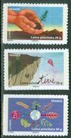 """FR Adhesif YT 526A 527A 537A """" Fête Du Timbre """" 2011 Neuf** - France"""