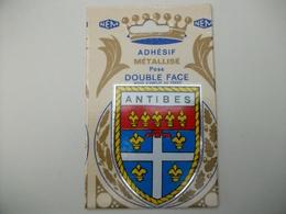 Blason Adhésif ANTIBES (06) Alpes Maritimes - Antibes