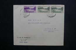 SYRIE - Enveloppe Commerciale De Alep Pour Paris En 1951, Affranchissement Plaisant - L 49269 - Syrie
