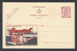 Publibel - 65c - Thématique Behangpapier (VG) DC5134 - Stamped Stationery