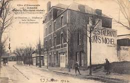 35 .n°  107107 . Dinard . Hotel Restaurant Du Mont St Michel .la Gare . - Dinard