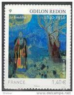 "FR Adhesif YT 551 (4542) "" Odilon REDON, Le Boudha "" 2011 Neuf - KlebeBriefmarken"