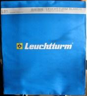 Leuchtturm - Feuilles BLANCO LB 1 (1 Poche) (paquet De 10) - Albums & Binders
