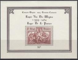BELGIEN Block 31, Postfrisch **, Kultur - 500. Todestag Von Rogier Van Der Weyden, 1964 - Blocks & Kleinbögen 1962-....