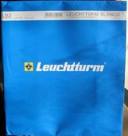 Leuchtturm - Feuilles BLANCO LB 2 (2 Poches) (1) - Albums & Binders