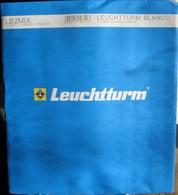 Leuchtturm - Feuilles BLANCO LB 2 MIX (1 Poche + 1 Bande) (paquet De 10) - Albums & Binders