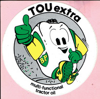 Sticker - BP - TOU Extra - Multi-Functional Tractor Oil - Autocollants