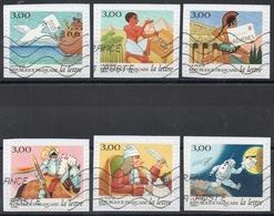 France - Adhésifs N° 3156 à 3161 Oblitérés - Série Complète - Les Journées De La Lettre - Francia