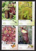 AUSTRALIA, 2013 CARNIVEROUS PLANTS BLOCK 4 MNH - 2010-... Elizabeth II