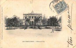 Algeria Ain Temouchent L'Hotel De Ville Town Hall Postcard - Ansichtskarten