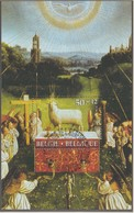 """BELGIEN Block 56, Gestempelt, """"Genter Altar"""" Der Brüder Van Eyck, 1986 - Blocks & Sheetlets 1962-...."""