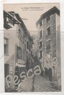 43 HAUTE LOIRE - CP LE VELAY PITTORESQUE - LE PUY - LA RUE ROCHETAILLADE - D. P. EDITEUR LYON CLICHE VAZEILLE N° 131 - Le Puy En Velay