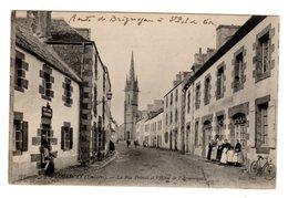 CPA Plouescat 29 Finistère Rue Primel Hôtel Armorique Route Brignogan St Pol Leon éditeur ND N°678 - Plouescat