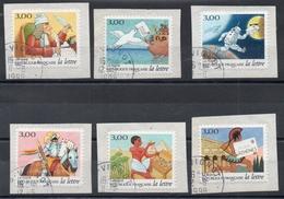 France - Adhésifs N° 3156 à 3161 Oblitérés - Série Complète - Les Journées De La Lettre - Cachet Vignot (Meuse) - Autoadesivi