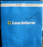 Leuchtturm - Feuilles BLANCO LB 2 VERT (2 Bandes Verticales) (paquet De 10) - Albums & Binders