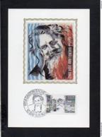 10 Gaston Bachelard,Philosophe,né à Bar Sur Aube / Carte Maximum Premier Jour,cachet Bar Sur Aube 1984 - Bar-sur-Aube