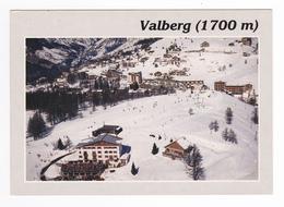 06 Valberg Vers Guillaumes Vue Générale Aérienne En 1987 - Ohne Zuordnung