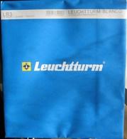 Leuchtturm - Feuilles BLANCO LB 3 (3 Bandes) (1) - Albums & Binders