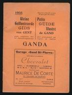 GENT - BOEKJE MET PROGAMMA DER GENTSCHE FESTEN IN 1935 - NEDERLANDS / FRANSTALIG - ZIE MEERDERE AFBEELDINGEN - Gent