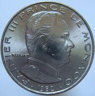 LaZooRo: Monaco 1/2 Franc 1982 UNC - Monaco