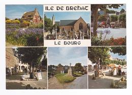 22 Ile De Bréhat En 6 Vues N°358 Le Bourg Croix De Kerrano Marché Enfant Dans Charrette En 1986 - Ile De Bréhat