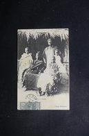 SÉNÉGAL - Affranchissement De Dakar Sur Carte Postale ( Chef Et Sa Famille ) - L 49289 - Sénégal (1887-1944)