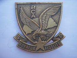 """Insigne De Béret """"Sécurité Présidentielle RCA Centrafrique"""" , Drago Paris - Armée De Terre"""