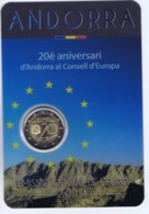 "Andorra -  2 Euro Commemorativo 2014 "" Consiglio D' Europa "" - Andorra"