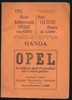 GENT - BOEKJE MET PROGAMMA DER GENTSCHE FESTEN IN 1931 - NEDERLANDS / FRANSTALIG - ZIE MEERDERE AFBEELDINGEN - Gent