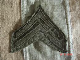 Galon Américain Corporal 1918-1919 AEF WW1 - 1914-18