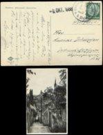 P0497 - DR Propaganda Sudetenland Mit Notstempel Auf Postkarte Krummau: Gebraucht Krummau An Der Moldau 9.10.1938 - Do - Alemania