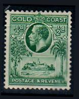 GOLD COAST COLONIES BRITANNIQUES FORTERESSE CHRÉTIENNE 1929 CACAO - Tonga (...-1970)