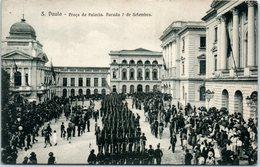 AMERIQUE -- Bresil S. PAULO -- Praça Do Palacio Parada7 Septeùmbro - São Paulo