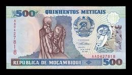 Mozambique 500 Meticais 1991 Pick 134 Serie AA SC UNC - Mozambique