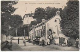 27 LOUVIERS Route De Saint-Pierre-du-Vauvray (carte Peu Courante) - Louviers