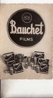 08- Maubert Fontaine Carte Publicitaire Des Films Bauchet Depositaire M Lauvergeon Cpsm Gm - Francia