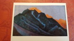 "Nicholas Roerich - ""MAULBECK""   HIMALAYA - Old USSR PC 1980 Rare Edition - Tibet"