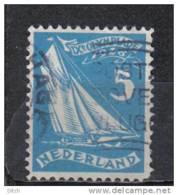 D - [TA056-14]TB//-PAYS BAS - YVERT N° 202 @OBL-USED@ Sports, Voile, Cote 2.50 Eur - Period 1891-1948 (Wilhelmina)