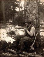 1909 REPARING THE ROAD  Canada  19*14CM Fonds Victor FORBIN 1864-1947 - Profesiones