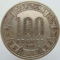 LaZooRo: Central African Republic 100 Francs 1978 XF Bokassa - Repubblica Centroafricana