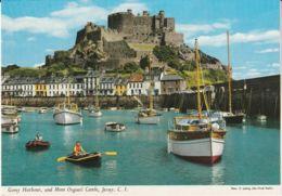 Postcard - Gorey Harbour, And Mont Orgueil Castle Jersey - Card No..2j16 Unused Very Good - Postcards