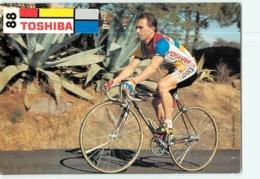Stéphane GUAY . 2 Scans. Toshiba 1988 - Cycling