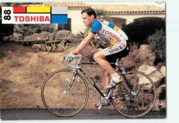 Christian JOURDAN . 2 Scans. Toshiba 1988 - Cycling