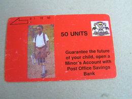 UGANDA Used Magnetic Card   Schoolboy - Ouganda