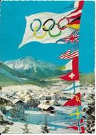 IXèmes Jeux Olympiques D'Hiver à Innsbruck (1964) : Seefeld (Tirol, 1200m.), Lieu Des Compétitions Nordiques. CPSM. - Sports D'hiver