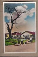 CPSM VIETNAM - Sud Viet Nam - SAIGON - Un Quartier Pittoresque - TB PLAN Habitations + Animation - Viêt-Nam