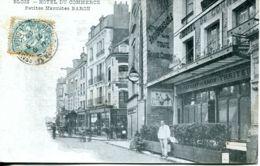 N°121 T -cpa Blois -Hôtel Du Commerce- Petites Marmites Baron- - Hotels & Gaststätten